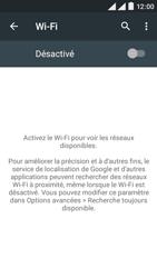 Wiko Rainbow Lite 4G - Internet et connexion - Accéder au réseau Wi-Fi - Étape 5