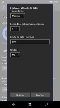Microsoft Lumia 950 XL - Internet - Ver uso de datos - Paso 15
