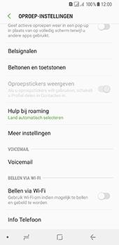 Samsung Galaxy A8 (2018) - Voicemail - handmatig instellen - Stap 7