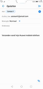 Huawei P20 Pro Dual-SIM (Model CLT-L29) - E-mail - Bericht met attachment versturen - Stap 7