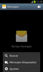 Samsung S7560 Galaxy Trend - Mensajería - Configurar el equipo para mensajes de texto - Paso 5
