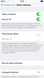 Apple iPhone 6 - Internet - Configurar Internet - Paso 5