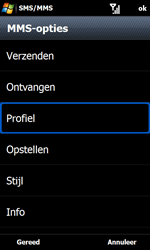 Samsung B7610 Omnia Qwerty - MMS - handmatig instellen - Stap 16