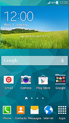 Samsung G800F Galaxy S5 Mini - E-mail - Manual configuration (yahoo) - Step 1