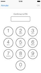 Apple iPhone 5c - Sécuriser votre mobile - Personnaliser le code PIN de votre carte SIM - Étape 13