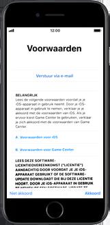 Apple iPhone 6s met iOS 11 (Model A1688) - Instellingen aanpassen - Activeer het toestel en herstel jouw iCloud-data - Stap 21