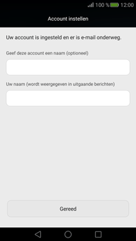 Huawei Mate S - E-mail - Account instellen (POP3 zonder SMTP-verificatie) - Stap 19