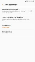 Samsung Galaxy S7 - Android Nougat - SMS - handmatig instellen - Stap 10