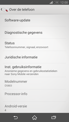 Sony D5803 Xperia Z3 Compact - Software update - update installeren zonder PC - Stap 5
