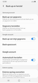 Samsung Galaxy A40 - Data - maak een back-up met je account - Stap 7