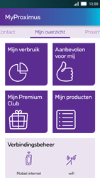 Huawei Y5 - Applicaties - MyProximus - Stap 11