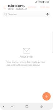 Samsung Galaxy S9 - E-mail - Configuration manuelle (outlook) - Étape 5