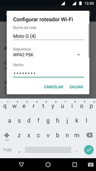 Motorola Moto G (4ª Geração) - Wi-Fi - Como usar seu aparelho como um roteador de rede wi-fi - Etapa 7