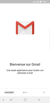 Samsung Galaxy S8 - Android Oreo - E-mail - Configuration manuelle (gmail) - Étape 4