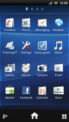 Sony Xperia Neo V - Voicemail - Manual configuration - Step 3