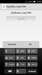 Alcatel Pixi 3 - Segurança - Como ativar o código de bloqueio do ecrã -  10