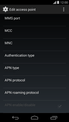 Motorola Moto G - Internet - Manual configuration - Step 12