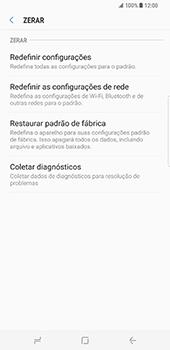 Samsung Galaxy S8 Plus - Repor definições - Repor definições de fábrica do telemóvel -  7
