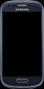 Samsung Galaxy S3 Mini - Premiers pas - Découvrir les touches principales - Étape 2