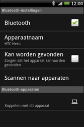 HTC A6262 Hero - Bluetooth - headset, carkit verbinding - Stap 7