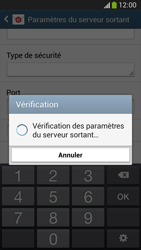 Samsung C105 Galaxy S IV Zoom LTE - E-mail - Configuration manuelle - Étape 14