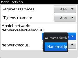 BlackBerry 9720 Bold - Netwerk - Gebruik in het buitenland - Stap 7