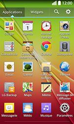 LG F70 - Contact, Appels, SMS/MMS - Envoyer un SMS - Étape 3