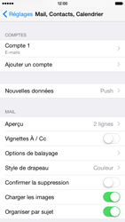 Apple iPhone 6 iOS 8 - E-mails - Ajouter ou modifier un compte e-mail - Étape 16