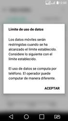 LG K4 (2017) - Internet - Ver uso de datos - Paso 9