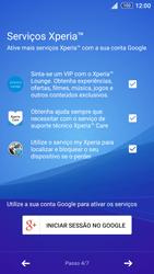 Sony Xperia Z3 Plus - Primeiros passos - Como ligar o telemóvel pela primeira vez -  12