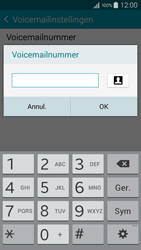 Samsung A300FU Galaxy A3 - Voicemail - Handmatig instellen - Stap 10