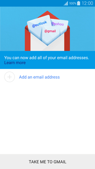 Samsung N910F Galaxy Note 4 - E-mail - Manual configuration (gmail) - Step 6