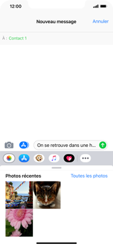 Apple iPhone XR - MMS - envoi d'images - Étape 9