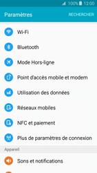 Samsung Galaxy J3 (2016) - Internet et connexion - Accéder au réseau Wi-Fi - Étape 4