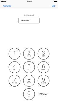 Apple iPhone 7 Plus - Sécuriser votre mobile - Personnaliser le code PIN de votre carte SIM - Étape 7