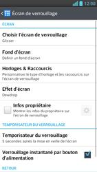 LG Optimus F5 - Sécuriser votre mobile - Activer le code de verrouillage - Étape 5