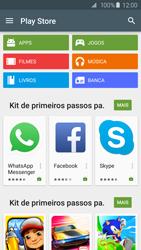 Samsung Galaxy S6 - Aplicativos - Como baixar aplicativos - Etapa 4
