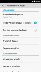 Huawei Ascend G6 - Messagerie vocale - configuration manuelle - Étape 6