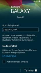 Samsung Galaxy Alpha - Premiers pas - Créer un compte - Étape 31