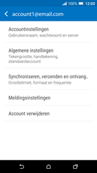 HTC One A9 - E-mail - Instellingen KPNMail controleren - Stap 7