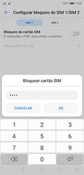 Huawei P20 - Segurança - Como ativar o código PIN do cartão de telemóvel -  9