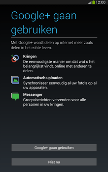 Samsung T315 Galaxy Tab 3 8-0 LTE - Applicaties - Account aanmaken - Stap 16