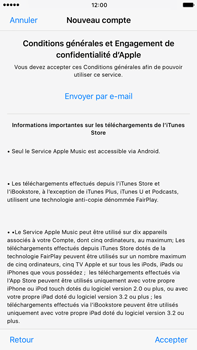 Apple Apple iPhone 6 Plus iOS 10 - Applications - Créer un compte - Étape 10
