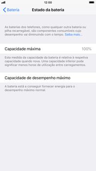 Apple iPhone 7 Plus iOS 11 - Bateria - Como desativar a gestão de desempenho -  5