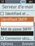 Samsung B2100 Xplorer - E-mail - Configuration manuelle - Étape 22