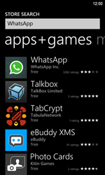 Nokia Lumia 920 LTE - Applications - Downloading applications - Step 6