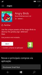 Microsoft Lumia 550 - Aplicações - Como pesquisar e instalar aplicações -  17