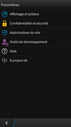 BlackBerry Z30 - Internet - Configuration manuelle - Étape 16