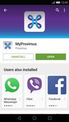 Huawei P8 - Applications - MyProximus - Step 9
