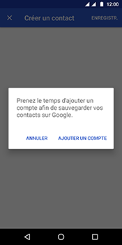 Motorola Moto G6 - Contact, Appels, SMS/MMS - Ajouter un contact - Étape 5